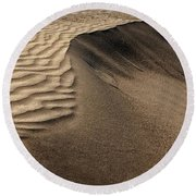 Sand Pattern Abstract - 2 Round Beach Towel