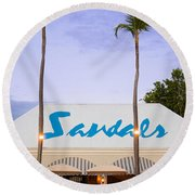 Sandals Grande Antigua Round Beach Towel