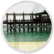 Sandals Resort Nassau Pier Round Beach Towel