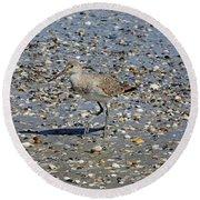 Sandpiper Galveston Is Beach Tx Round Beach Towel