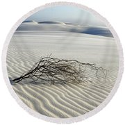 Sands Of Time Brazil Round Beach Towel