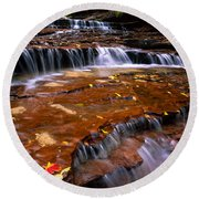Sandstone Ledge Round Beach Towel