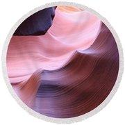 Antelope Canyon Sandstone Waves Round Beach Towel