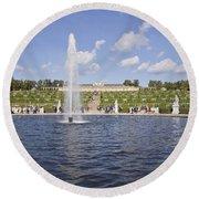 Sanssouci Park Potsdam Round Beach Towel