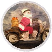 Santa Clause Is Coming To Town Painting By Sheila Mashaw