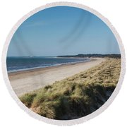 Saving Private Ryan Stand In For Omaha Round Beach Towel