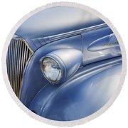 Saweet Chevy 1937 Chevrolet Round Beach Towel