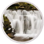 Scaleber Force Close Up Round Beach Towel