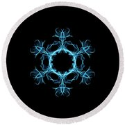 Scarab Round Beach Towel