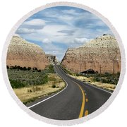 Utah's Scenic Byway 12 - An All American Road Round Beach Towel