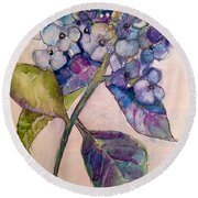 Scented Beauty Round Beach Towel