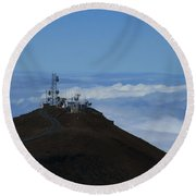 Science City Haleakala Round Beach Towel
