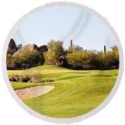 Scottsdale Golf Round Beach Towel