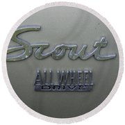 Scout Round Beach Towel