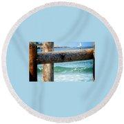 Sea Gate Round Beach Towel