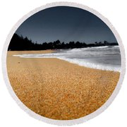 Sea Life 2 Round Beach Towel