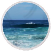 Sea Of Dreams Round Beach Towel
