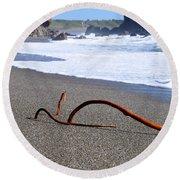 Sea Serpent Round Beach Towel