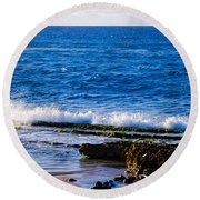 Sea Shelves Round Beach Towel
