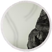 Sea Stack Round Beach Towel
