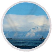 Seabridge Round Beach Towel