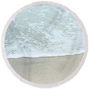 Seafoam Round Beach Towel