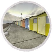 Seaford Beach  Round Beach Towel