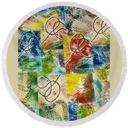 Seal The Deal Round Beach Towel