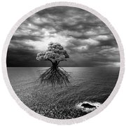 Searching For Land Round Beach Towel