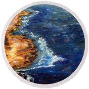 Seascape Series 5 Round Beach Towel