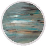 Seashore Round Beach Towel