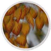 Seasonal Shiver Round Beach Towel