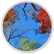 Seasons Round Beach Towel