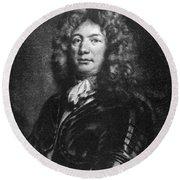 Sebastien De Vauban (1633-1707) Round Beach Towel