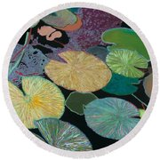 Secret Hideaway Round Beach Towel
