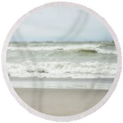Secret Of The Sea Round Beach Towel by Lisa Russo