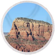 Sedona  Arizona  Mountain  Three Round Beach Towel
