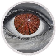See The Symphony Round Beach Towel