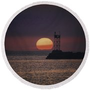 See You On The Other Side Round Beach Towel