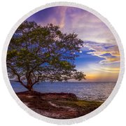 Seeing Is Believing Round Beach Towel