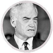 Senator Barry Goldwater Round Beach Towel