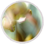 Sensual Touch Of Exotic. Orchid II Round Beach Towel