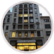 Sephora House - 5th Ave Nyc Round Beach Towel
