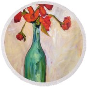 Serendipity Delicious Round Beach Towel