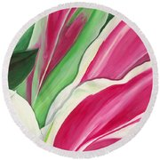 Serendipity Round Beach Towel by Lisa Bentley