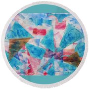 Serendipity Round Beach Towel