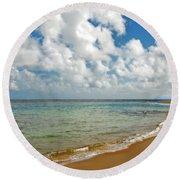 Serenity Round Beach Towel