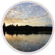 Serenity Sea Round Beach Towel