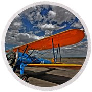 Set To Fly Round Beach Towel