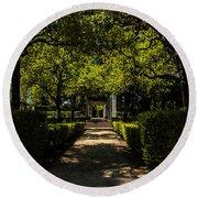 Seville - Park Maria Luisa Round Beach Towel